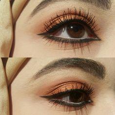 The balm Appetit paleti ile yapilmis göz makyaji