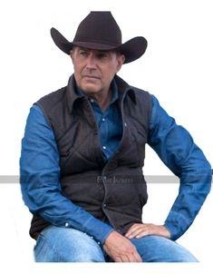 We bring you Yellowstone John Dutton (Kevin Costner) Quilted Vest at lowest price, Sky-Seller is the place that offers free Worldwide shipping Yellowstone Series, Types Of Jackets, Jacket Types, Men's Jackets, Hot Cowboys, Country Dresses, Country Outfits, Cool Coats, Kevin Costner