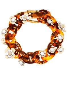 Prada Inspired Necklace DIY #mjtrimming #diy #prada #lucite #chains