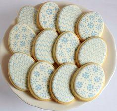 Cookie Decorating, Easter Eggs, Cookies, Tableware, Instagram Posts, Desserts, Food, Crack Crackers, Tailgate Desserts