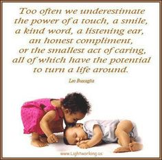 """cute:)  """"little things matter more than big things so take time to be kind to others"""""""