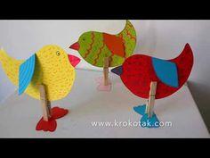 krokotak | CLOTHESPIN BIRDS