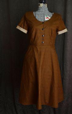 https://www.etsy.com/listing/200372437/the-best-dress-in-the-world-brown-gold?utm_source=Pinterest
