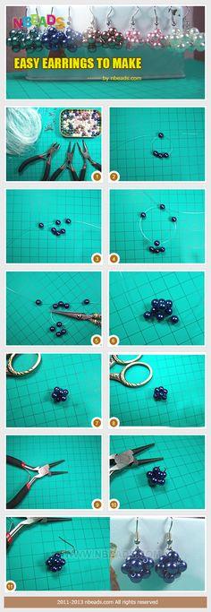 easy earrings to make