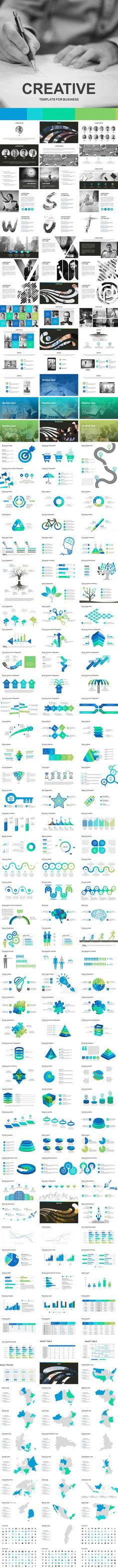 Creative Powerpoint Template — Powerpoint PPTX #enterprise #investor • Download ➝ https://graphicriver.net/item/creative-powerpoint-template/18876372?ref=pxcr