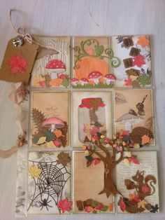 Herfst/fall pocket letter made by colette