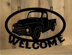 Metal Cut Classic Truck Sign Click to purchase: http://dytph.cylnv.servertrust.com/classic-truck-sign-p/classictrk1.htm