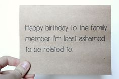 Funny Birthday Card by ColorfulDelight on Etsy