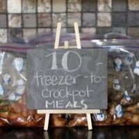 Freezer crockpot meals 2