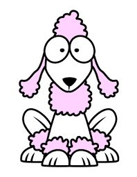 dog picture for kids to color | coloring | pinterest