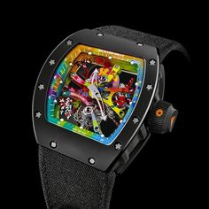 A veritable 'work of art for the wrist', the new Richard Mille RM 68-01 Tourbillon Cyril Kongo watch will make horological history.