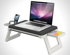 Unikia Always On Station: ideal for working from home with your laptop, tablet... l #homeoffice #ipad #macbook