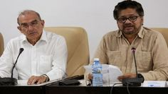 """#Media #Oligarchs #MegaBanks vs #Union #Occupy #BLM #Rojava  FARC and Colombia Gov't Sign New Peace Deal in Havana   http://www.telesurtv.net/english/news/FARC-and-Colombia-Govt-Sign-New-Peace-Deal-in-Havana-20161110-0037.html   Alvaro Uribe, leader of the """"No"""" campaign, said he hoped the new accords would not have a """"definitive"""" effect.  The Revolutionary Armed Forces of Colombia (FARC) and the government of Juan Manuel Santos signed Saturday a new peace deal in Havana, Cuba, marking the…"""