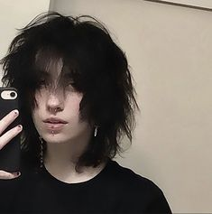 @ ddemongutz on insta Cut My Hair, New Hair, Your Hair, Hair Cuts, Hair Inspo, Hair Inspiration, Androgynous Hair, Mullet Hairstyle, Aesthetic Hair