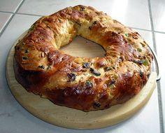 Torcolo di San Costanzo , delicious umbrian cake
