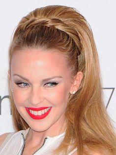 Kylie Minogue Bakır Saçlar ve Kylie Minogue Saç Modeli
