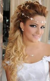 wedding hairstyles half up half down with tiara - Google Search