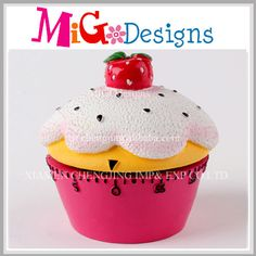 Novelty Wholesale Clock Timer For Kitchen With Ice Cream Design