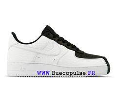 size 40 afdbd 647c0 Nouveau Nike Air Force 1 Chaussures classiques Pas Cher Pour Femme Enfant  Blanc noir 905345