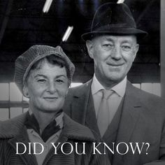 Did you know that Alec Guinness and his wife Merula converted to the Roman Catholic Church in the 50s. —— ¿Sabías que Alec Guinness y su esposa Merula se convirtieron al Catolicismo en 1950?  #AlecGuinness