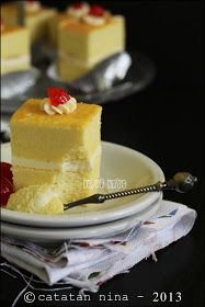 Catatan Nina: CHEESE COTTON CAKE