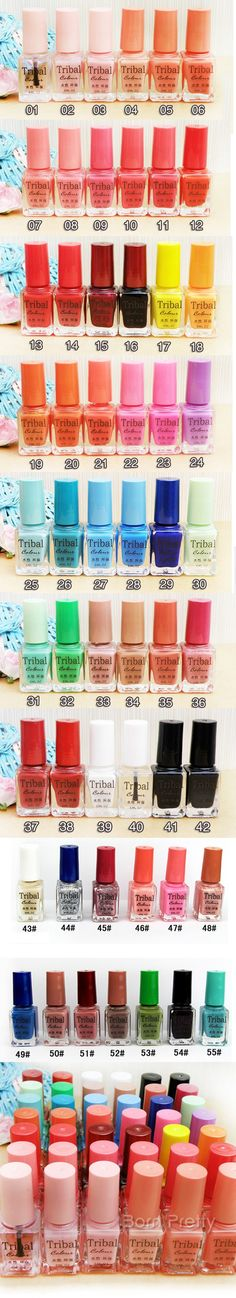 I find an excellent product on @BornPrettyStore, $0.99 Peach eco-friendly Water-based Nail Art Polish NO Nail Polish Remover Needed - BornPrettyStore.com