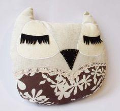 Owl Plush - Folksy