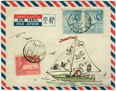 Artist, Claire Fletcher doodles wonderful little bits of artwork.delightful and whimsical. I wish I co Artist, Claire Fletcher doodles wonderful little bits of artwork.delightful and whimsical. Envelope Lettering, Envelope Art, Papel Vintage, Mail Art Envelopes, Art Carte, Old Letters, Decorated Envelopes, Going Postal, Vintage Poster