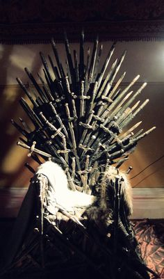 Hexotica: Game of Thrones Party! Part Two: The Iron Throne