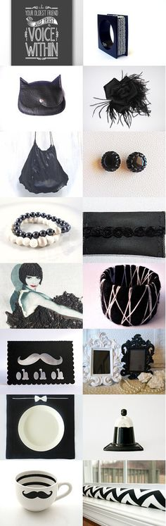 Handmade black