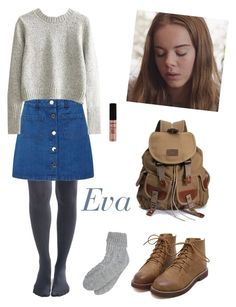 Eva II by aestheticarithmetic on Polyvore featuring Miss Selfridge, ASOS, M&Co, NYX, EVA and skam