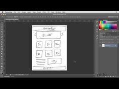 Photoshop CC for Web Design Tutorial | 26 - Planning your project