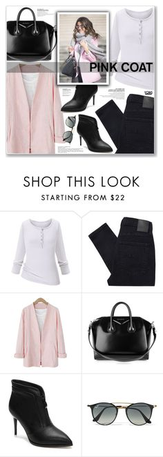 """""""LOVE YOINS"""" by nanawidia ❤ liked on Polyvore featuring Nobody Denim, Givenchy and Ray-Ban"""