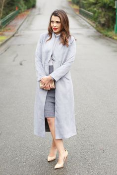 Grey Days Professional Dress Code, Office Looks, Fashion Lookbook, Dress Codes, Modest Fashion, Lifestyle Blog, Office Chic, What To Wear, Fashion Blogs