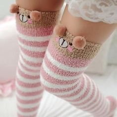 Cheap thigh high socks, Buy Directly from China Suppliers:Japanese Mori Girl Animal Modeling Knee Socks Striped Cute Lovely Kawaii Cozy Long Thigh High Socks Compression Winter Warm Sock Thigh Socks, Knee Socks, Thigh High Socks Outfit, Lady Stockings, Nylon Stockings, Winter Stockings, Striped Thigh High Socks, Girls Knee High Socks, Cozy Socks