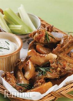 Femina.co.id: Spicy Calabrian Wings (Italia Selatan) #resep