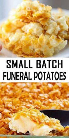 Potato Sides, Potato Side Dishes, Vegetable Side Dishes, Easy Casserole Recipes, Potato Recipes, Vegetable Recipes, Skillet Recipes, Batch Cooking, Cooking Recipes