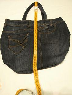 borsa  in jeans-grande e resistente di sogni d'arte by adalgisa su DaWanda.comgrandi sconti su tutte le borse in jeans www.sognidarte.com