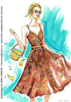 https://flic.kr/p/Vx1Ytg | MM-07-final | My new illustrations for fabric store Mia Moda.  www.instagram.com/tkanimiamoda/  Иллюстрации для магазина тканей Mia Moda. www.instagram.com/tkanimiamoda/  #fashionillustration #fashion #illustration #fabrics #fabricstore #tweed #chanel #silk #LibertyLondon #pattern #MiaModa #ткань #мода #clothes #textile #material #иллюстрация #watercolor #ink #фэшниллюстрация #акварель #тушь #blouse #jacket #dress #одежда #instafashion #fashioninsta #instaart