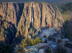Picture of rock walls in Black Canyon of the Gunnison National Park, Colorado