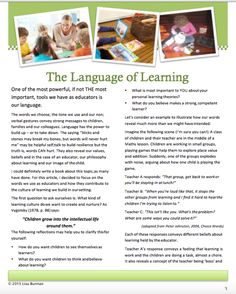 Reframing and Renaming What We Do and Who We Are: Early Childhood Education in the 21st Century | Technology Rich Inquiry Based Research