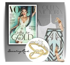 """""""DazzlingRock Jewelry"""" by dazzlingrock ❤ liked on Polyvore featuring Victoria Beckham, Monki and Hervé Léger"""