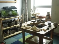 """Site, """"A Classroom Full of Curiosity and Wonder"""" (inspired by the Reggio Emilia approach)"""