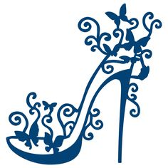 Tattered Lace High Heel Glam Toppers Die