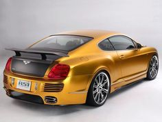 ASI Bentley W66 GTS Gold '2008–10