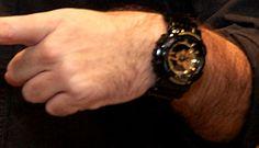 G-Shock  GA110GB-1 Wrist Shot