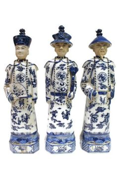 Vintage-Style-Blue-and-White-Porcelain-Chinese-Qing-3-Generations-Emperor-15