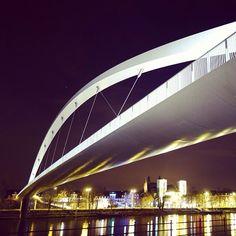 On the street... Maastricht at night - Maastricht univerCity - Hoge Brug - High Bridge - #Mtricht Mtricht.com