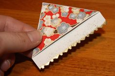 Page Corner Bookmarks. So easy to make, you can have several lying around where ever it's convenient!