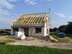 Więźba dachowa #dach #budowa #projekt